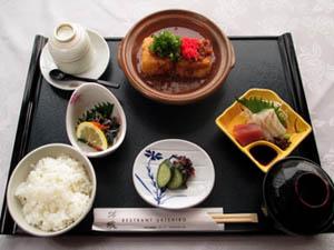 豆腐ステーキセット